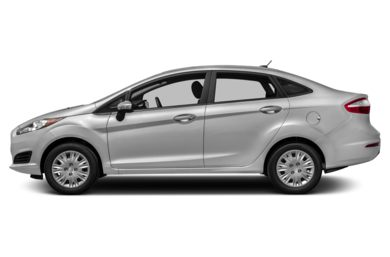 90 Degree Profile 2016 Ford Fiesta