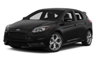 3/4 Front Glamour 2014 Ford Focus ST