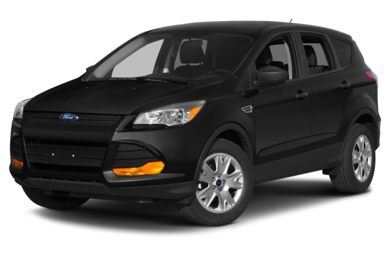 3/4 Front Glamour 2014 Ford Escape