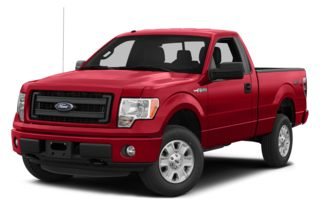 3/4 Front Glamour 2014 Ford F-150