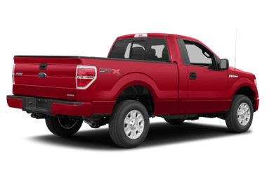 3/4 Rear Glamour  2014 Ford F-150