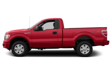 90 Degree Profile 2014 Ford F-150