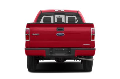 Rear Profile  2014 Ford F-150