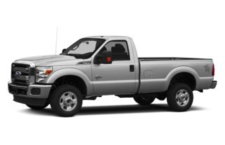 3/4 Front Glamour 2014 Ford F-350