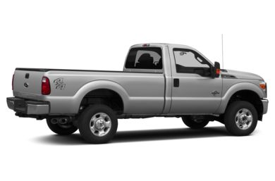 3/4 Rear Glamour  2014 Ford F-350