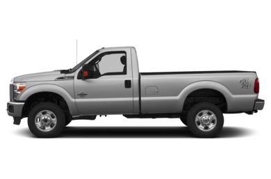 90 Degree Profile 2014 Ford F-350