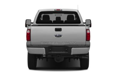 Rear Profile  2014 Ford F-350