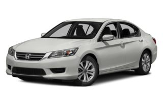 3/4 Front Glamour 2014 Honda Accord