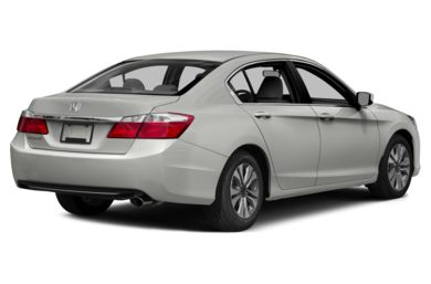 3/4 Rear Glamour  2014 Honda Accord