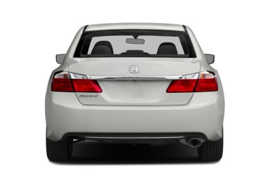 Rear Profile  2014 Honda Accord