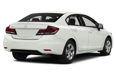 3/4 Rear Glamour  2014 Honda Civic