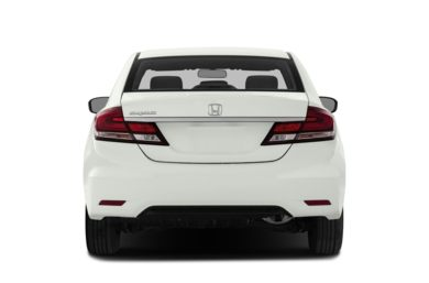 Rear Profile  2014 Honda Civic