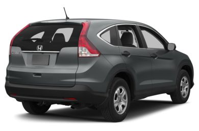 3/4 Rear Glamour  2014 Honda CR-V