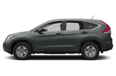90 Degree Profile 2014 Honda CR-V