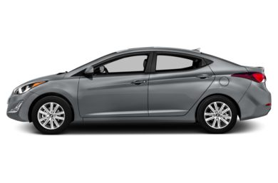 90 Degree Profile 2014 Hyundai Elantra