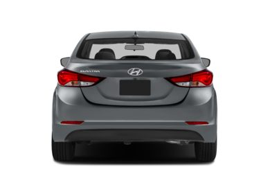 Rear Profile  2014 Hyundai Elantra