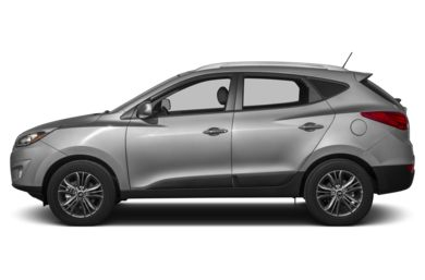 90 Degree Profile 2014 Hyundai Tucson
