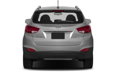 Rear Profile  2014 Hyundai Tucson