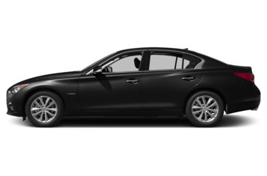 90 Degree Profile 2015 Infiniti Q50 Hybrid