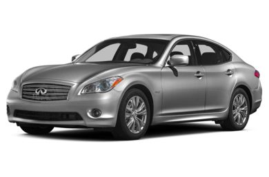 3/4 Front Glamour 2015 Infiniti Q70h