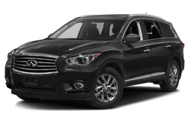 3/4 Front Glamour 2014 Infiniti QX60