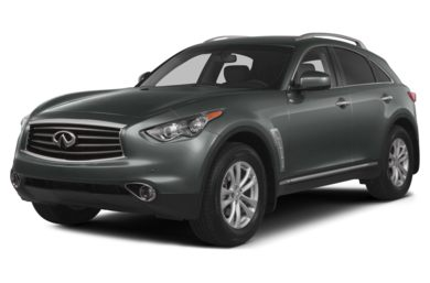 3/4 Front Glamour 2014 Infiniti QX70