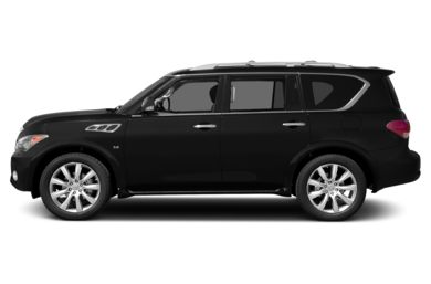 90 Degree Profile 2014 Infiniti QX80