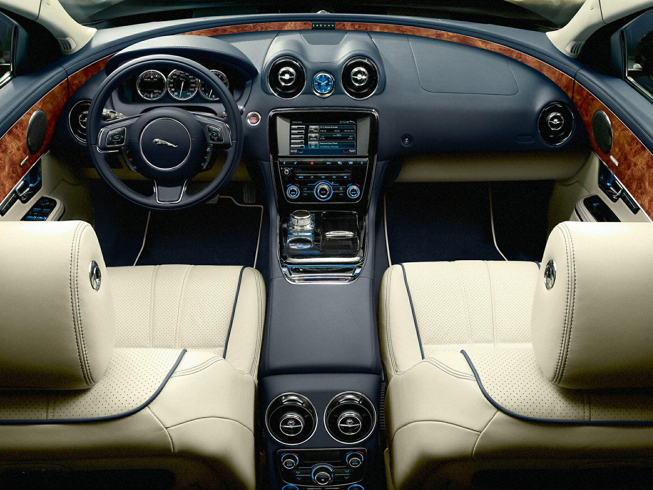 2014 Jaguar XJ Interior Glamour
