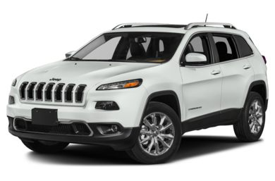 3/4 Front Glamour 2014 Jeep Cherokee