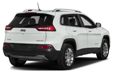3/4 Rear Glamour  2016 Jeep Cherokee