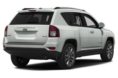 3/4 Rear Glamour  2016 Jeep Compass