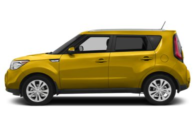 90 Degree Profile 2014 Kia Soul