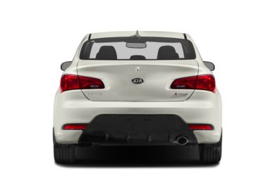 Rear Profile  2016 Kia Forte Koup