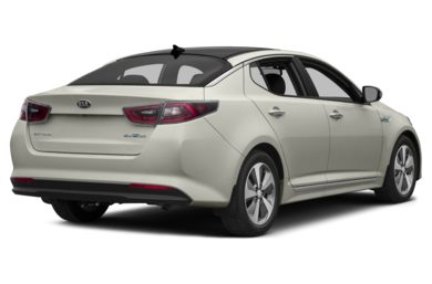 3/4 Rear Glamour  2014 Kia Optima Hybrid