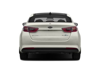 Rear Profile  2014 Kia Optima Hybrid