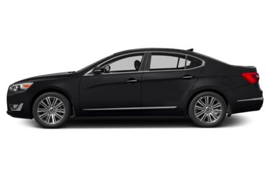 90 Degree Profile 2014 Kia Cadenza