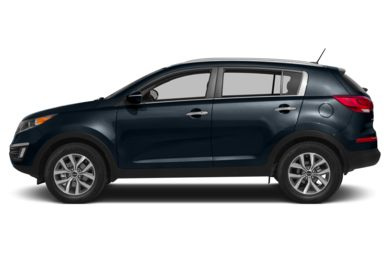 90 Degree Profile 2014 Kia Sportage