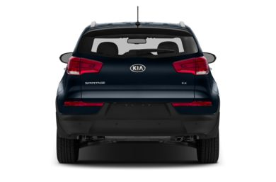 Rear Profile  2014 Kia Sportage