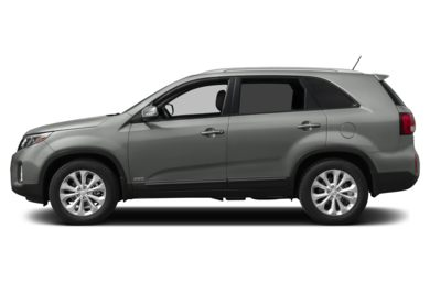 90 Degree Profile 2014 Kia Sorento