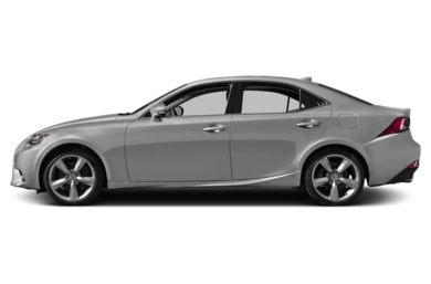 90 Degree Profile 2014 Lexus IS 350