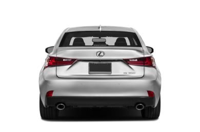 Rear Profile  2014 Lexus IS 350