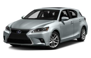 3/4 Front Glamour 2014 Lexus CT 200h