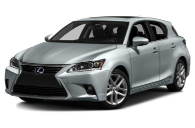 3/4 Front Glamour 2015 Lexus CT 200h