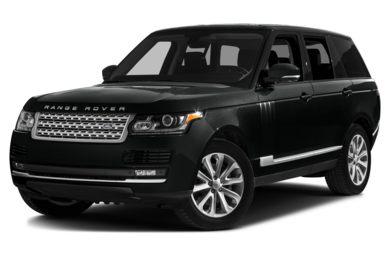 3/4 Front Glamour 2015 Land Rover Range Rover