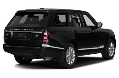 3/4 Rear Glamour  2015 Land Rover Range Rover