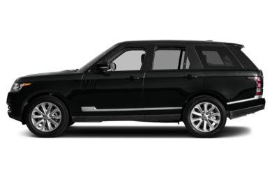 90 Degree Profile 2013 Land Rover Range Rover