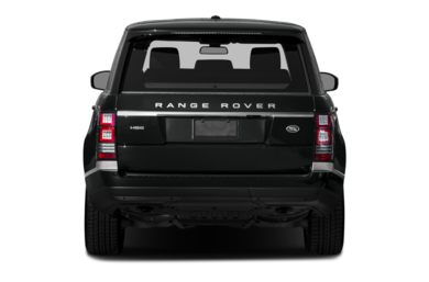 Rear Profile  2013 Land Rover Range Rover