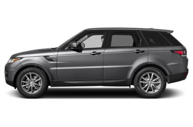 90 Degree Profile 2014 Land Rover Range Rover Sport