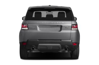 Rear Profile  2014 Land Rover Range Rover Sport