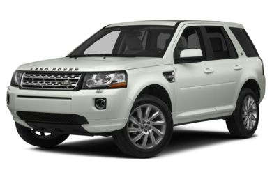 3/4 Front Glamour 2014 Land Rover LR2